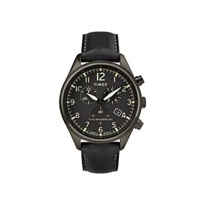 腕時計 タイメックス メンズ TW2R88400 Timex Waterbury TW2R88400 Men's Traditional Leather Strap 42m