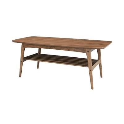 木製リビングテーブル トムテ L 幅105cm ウォールナット 木製リビングテーブル L 幅105cm ウォールナット tac-228wal