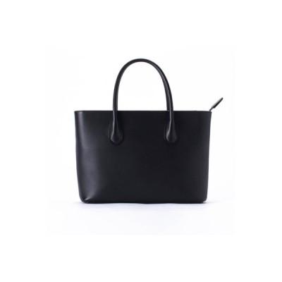 豊岡市 ふるさと納税 豊岡鞄 セミフォーマルトート TOTTE (ブラック)
