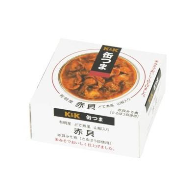 K&K 缶つま 赤貝どて煮風 山椒入り F3号缶 x6