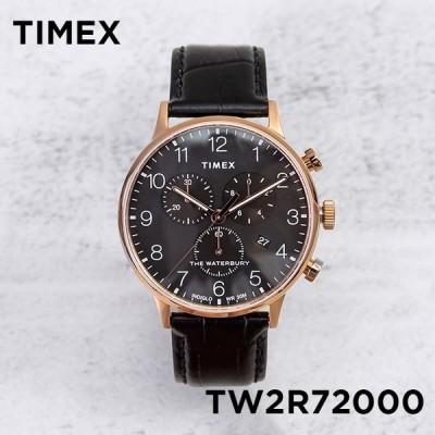 日本未発売 TIMEX タイメックス ザ ウォーターベリー クラシック クロノグラフ 40MM TW2R72000 腕時計 メンズ ミリタリー アナログ ローズ