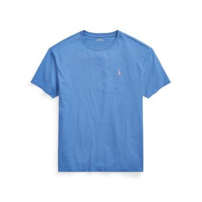 POLO RALPH LAUREN T シャツ パステルブルー S コットン 100% T シャツ