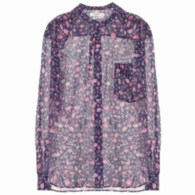 イザベル マラン Isabel Marant. Etoile レディース ブラウス・シャツ トップス Mexika floral cotton blouse Midnight
