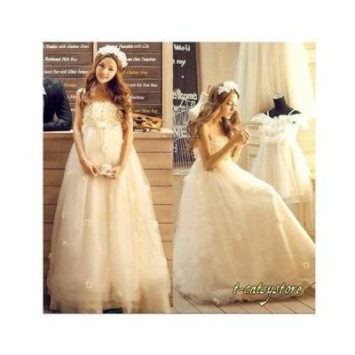 ウェディングドレス 高級ウエディングドレス お花嫁ドレス 結婚式 二次会 パーディ- 花嫁