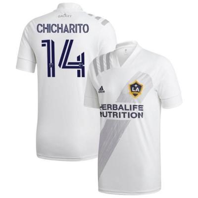 アディダス メンズ Tシャツ トップス Chicharito LA Galaxy adidas 2020 25th Season Celebration Replica Jersey