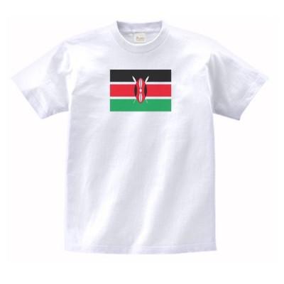 ケニア 国 国旗 Tシャツ