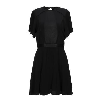 セッスン SESSUN ミニワンピース&ドレス ブラック XS アセテート 57% / レーヨン 43% ミニワンピース&ドレス