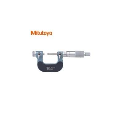 ミツトヨ(Mitutoyo) TMC-25(126-125) アナログ替駒式ねじマイクロメータ 測定範囲:0〜25mm