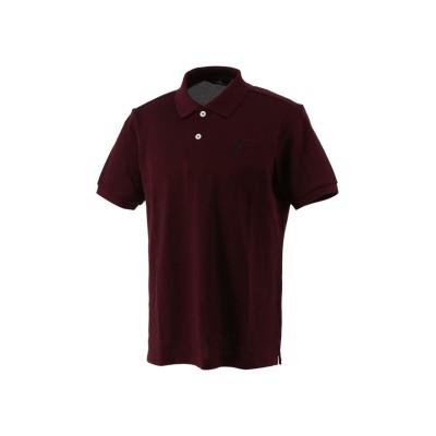 (Munsingwear/マンシングウェア)【マナード】鹿の子半袖ポロシャツ《新色》/メンズ レッド系