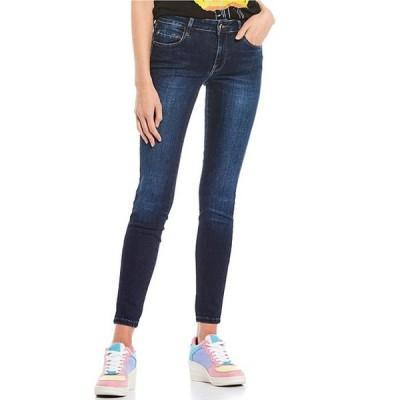 ゲス レディース デニムパンツ ボトムス Sexy Curve Mid Rise Skinny Jeans
