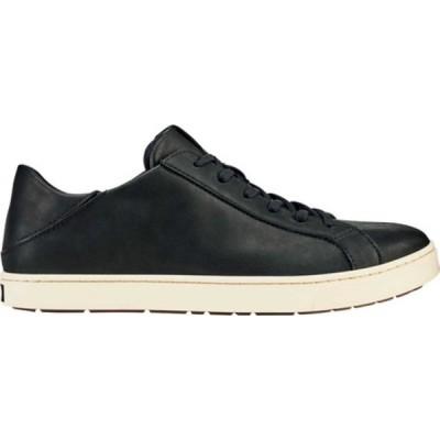 オルカイ スニーカー シューズ メンズ Kahu Pahana Sneaker (Men's) Black/Bone Full Grain Leather