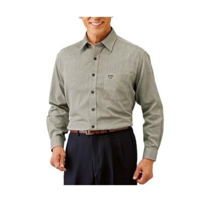 送料無料「パトリチオ フランチェスカ 大人の上質カジュアルシャツ(同サイズ3色組) トップス メンズ 紳士 シニア」 p17995