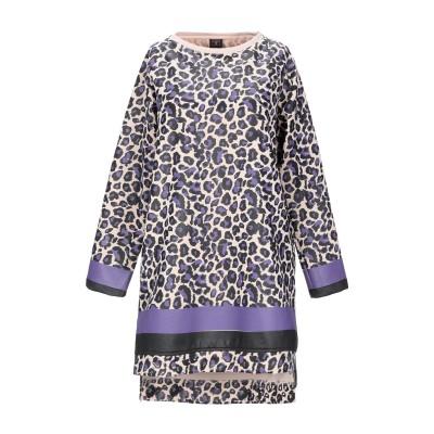 GUTTHA ミニワンピース&ドレス ライトピンク M ポリエステル 100% ミニワンピース&ドレス