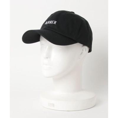 帽子 キャップ アジャスターロゴキャップ/L-AJUSTER LOGO CAP/ AVIREX/アヴィレックス
