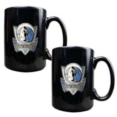 Great American Products ゲット アメリカン プロダクツ スポーツ用品  Dallas Mavericks Black 15oz. Coffee Mug Se