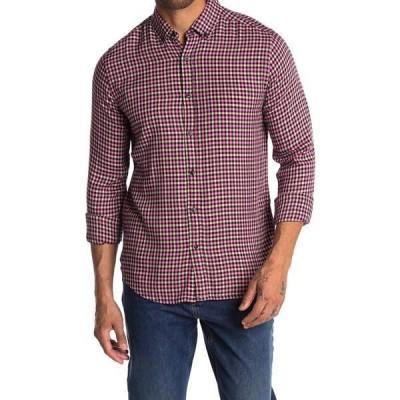 スコッチアンドソーダ メンズ シャツ トップス Plaid Flannel Button-Down Shirt 0220-COMBO D