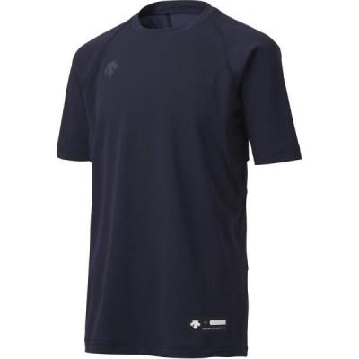 アンダーシャツ キッズ Tシャツ キッズ トップス キッズ ジュニア丸首半袖アンダーシャツ Dネイビー  (DES)(QCB02)