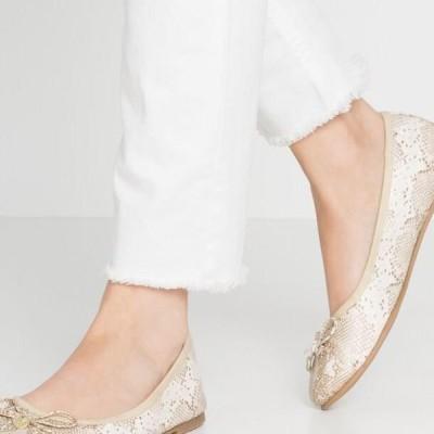 レディース パンプス Ballet pumps - gold