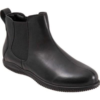 ソフトウォーク ブーツ&レインブーツ シューズ レディース Highland Chelsea Boot (Women's) Black Soft Nappa Leather