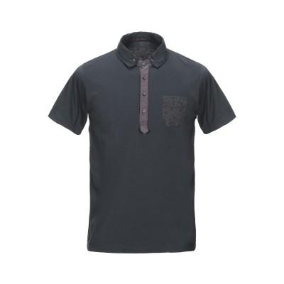 HI-BAND ポロシャツ スチールグレー S コットン 100% / ポリウレタン ポロシャツ