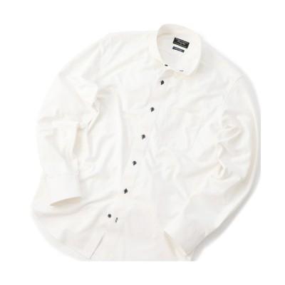 【メンズビギ】 トリコットジャージーシャツ〈イージーケア〉 メンズ ホワイト 02(M) Men's Bigi