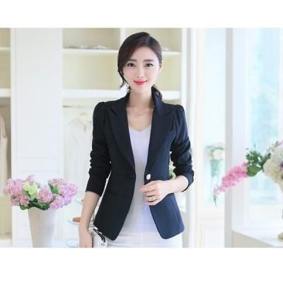 アウター ジャケット 大きいサイズ テーラード 黒 きれいめ オフィス OL ビジネス 長袖