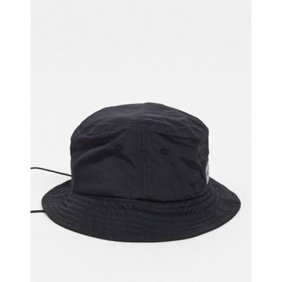 ニッチェ ロンドン メンズ 帽子 アクセサリー Nicce Viper reflective logo bucket hat with toggle