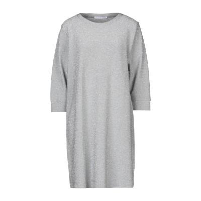 カオス KAOS ミニワンピース&ドレス シルバー L レーヨン 77% / ポリエステル 18% / ポリウレタン 5% ミニワンピース&ドレス
