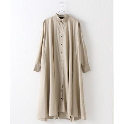 MARcourt/マーコート flared shirt OP beige FREE