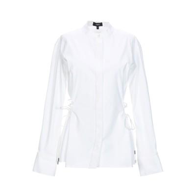 セオリー THEORY シャツ ホワイト L コットン 96% / ポリウレタン 4% シャツ