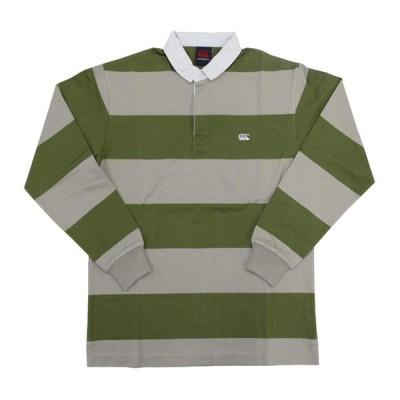 [カンタベリー] ラガーシャツ 4INCH STRIPE RUGBY メンズ 14 日本 L (日本サイズL相当)