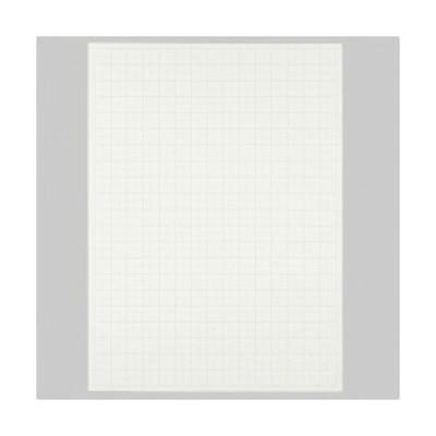 (まとめ) TANOSEE 模造紙(プルタイプ) 本体 765×1085mm 無地 ホワイト 1ケース(20枚) 【×5セット】