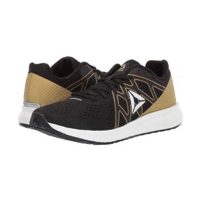 Reebok リーボック レディース 女性用 シューズ 靴 スニーカー 運動靴 Forever Floatride Energy - Black/White/Gold Metallic