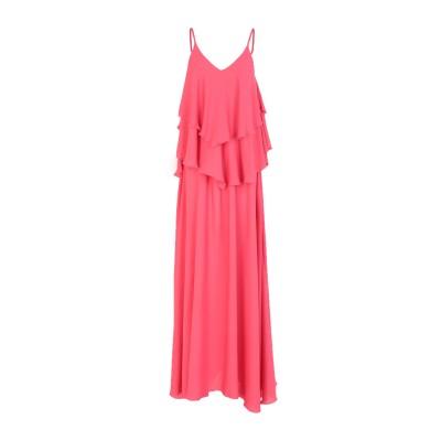 MARC ELLIS ロングワンピース&ドレス コーラル XS ポリエステル 100% ロングワンピース&ドレス