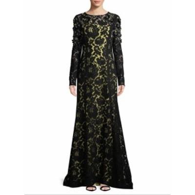 オスカーデラレンタ レディース ワンピース Floral Lace Gown
