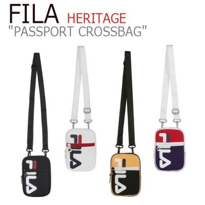 フィラ ボディバッグ FILA レディース HERITAGE PASSPORT CROSSBAG ヘリテージ パスポート クロスバッグ 4色 FS3BCC5340X バッグ
