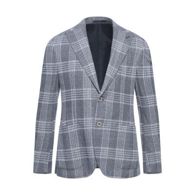 イレブンティ ELEVENTY テーラードジャケット ダークブルー 50 コットン 70% / リネン 30% テーラードジャケット