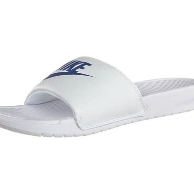 ナイキ メンズ 靴 シューズ BENASSI JDI - Pool slides - whire/varsity royal-white