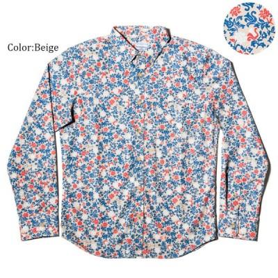 かりゆしウェア アロハシャツ メンズ(男性用) Little Flower 全3色 沖縄結婚式にアロハシャツ 送料無料