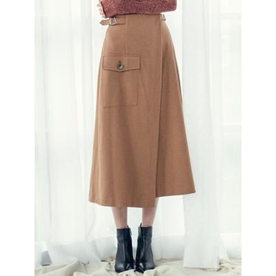 モクチョウサージストレッチスカート
