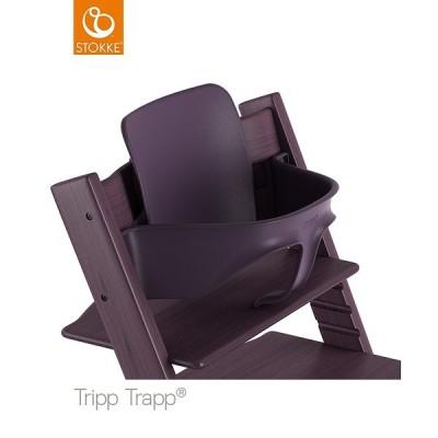 STOKKE ストッケ正規販売店 トリップトラップ ベビーセット TRIPP TRAPP 子供椅子 プラムパープル