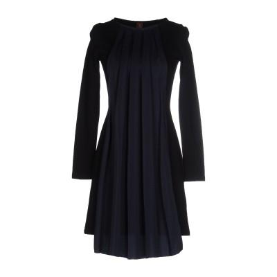 ドンダップ DONDUP ミニワンピース&ドレス ブラック M 80% レーヨン 15% ナイロン 5% ポリウレタン ミニワンピース&ドレス
