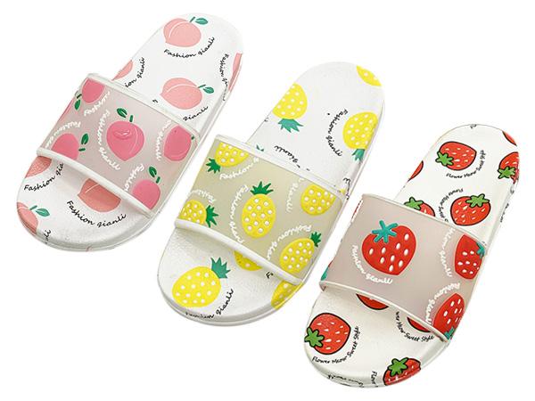夏季可愛水果防滑拖鞋(1雙入) 款式/尺寸可選【D021527】