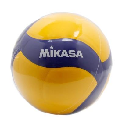MIKASAバレーボール 4号球 (中学校用・家庭婦人用) V455W 自主練 ママさんイエロー×ブルー