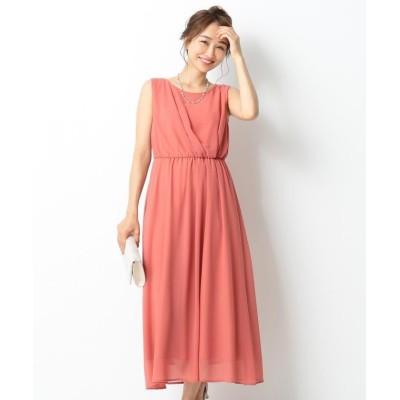 (anySiS/エニィ スィス)アシメタックミディー ドレス/レディース ピンク系