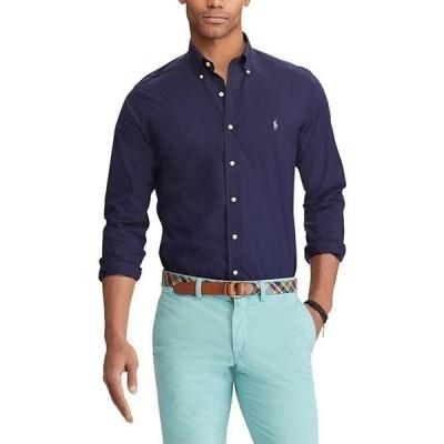 ラルフローレン メンズ シャツ トップス Solid Stretch Poplin Long-Sleeve Woven Shirt