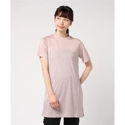 tシャツ Tシャツ スリットTシャツ