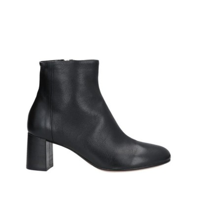 POMME D'OR ショートブーツ  レディースファッション  レディースシューズ  ブーツ  その他ブーツ ブラック