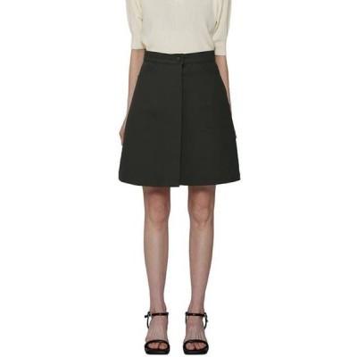 somedayif レディース スカート Brin button mid-length skirt