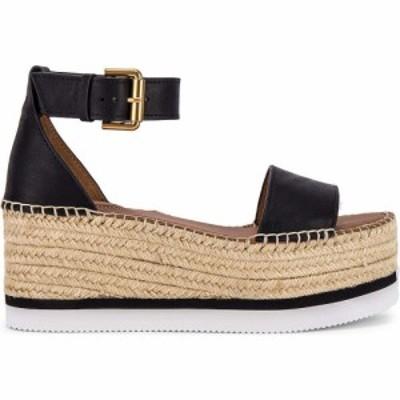 クロエ See By Chloe レディース サンダル・ミュール シューズ・靴 Glyn Platform Sandal Black